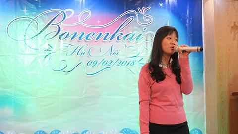 Các tiết mục văn nghệ trong tiệc Bonenkai 2017 Traum Việt Nam