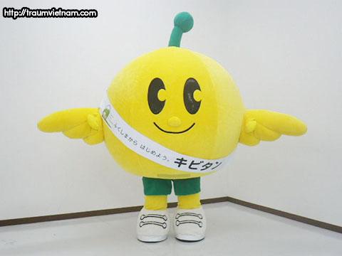 Kibitan - linh vật của tỉnh Fukushima Nhật Bản