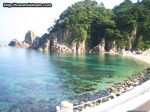 Bờ biển Sasagawa Nagare - Tỉnh Niigata Nhật Bản