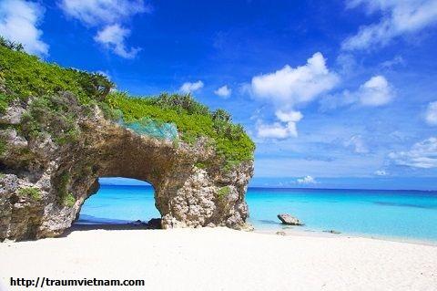 Đảo Kumeshima -bãi biển Hatenohama