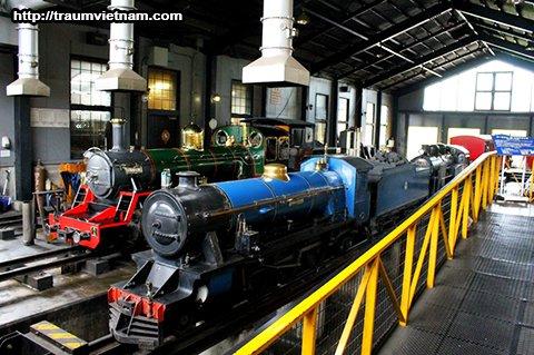 Bảo tàng đường sắt - Saitama Nhật Bản