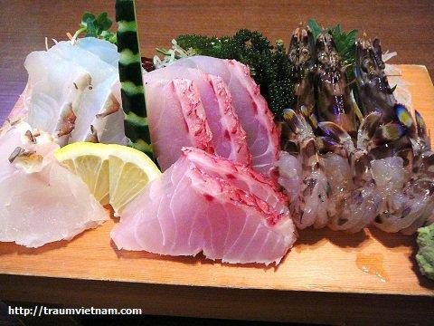 Đặc sản sashimi Okinawa