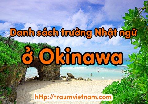 Danh sách những trường Nhật ngữ ở Okinawa Nhật Bản