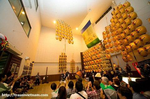 Hội quán dân gian thành phố Akita