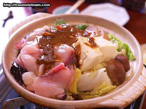 Lẩu cá Anko - đặc sản tỉnh Ibaraki Nhật Bản