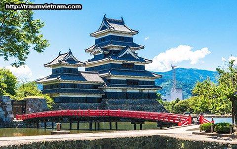 Lâu đài Matsumoto - Tỉnh Nagano Nhật Bản
