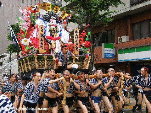 Lễ hội đóng khốHakata Gion Yamakasa
