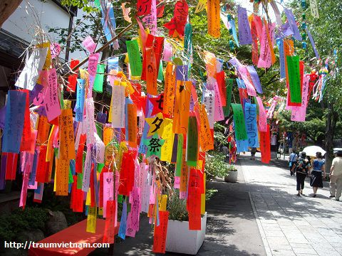 Lễ hội thất tịch (Tanabata) - Tỉnh Miyagi Nhật Bản