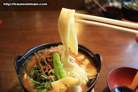 Mì Houtou - món ăn quê hương của tỉnh Yamanashi Nhật Bản