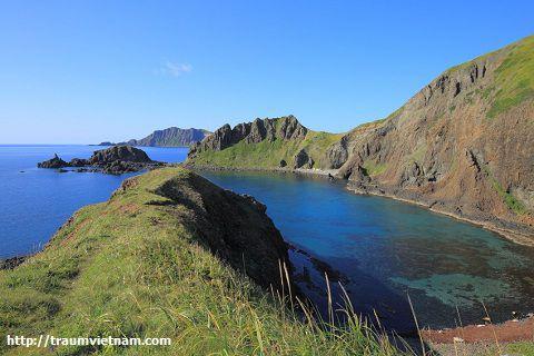 Mũi Sukai ở đảo Rebun