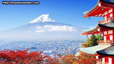 Núi Phú Sĩ - tỉnh Yamanashi Nhật Bản