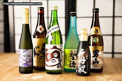 Rượu sake - tỉnh Nagano Nhật Bản