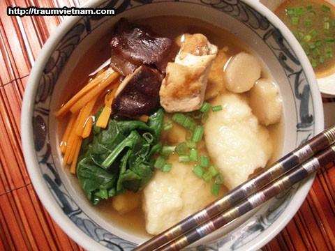 Súp Suiton - Món ăn truyền thống ở tỉnh Gunma