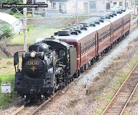 Chuyến tàu chạy bằng động cơ hơi nước The Paleo Express