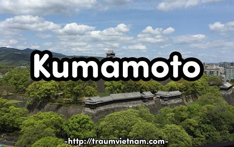 Tỉnh Kumamoto Nhật Bản - vùng đất của rừng, núi lửa và... gấu