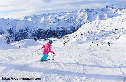 Trượt tuyết ở Hokkaido