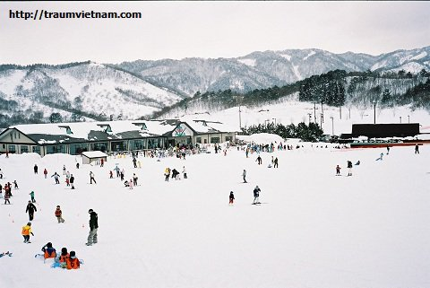 Trượt tuyết tại Núi Taihei