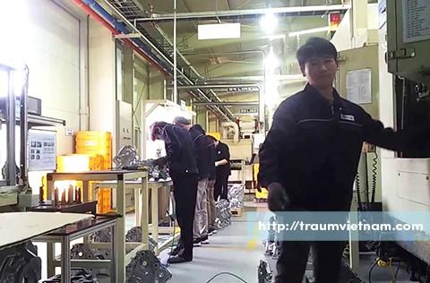 Tuyển 6 nam làm sắt ở Niigata Nhật Bản phỏng vấn qua Skype 3/2018