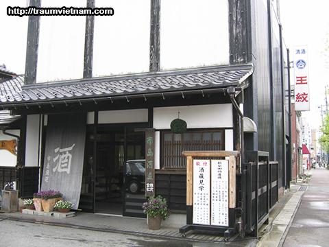 Một xưởng làm rượu ở tỉnh Niigata Nhật Bản