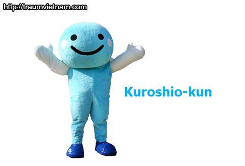 Kuroshi-kun Linh vật của tỉnh Kochi Nhật Bản
