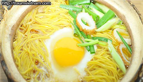 Nabeyaki Ramen- món ăn đặc trưng của tỉnh Kochi Nhật Bản