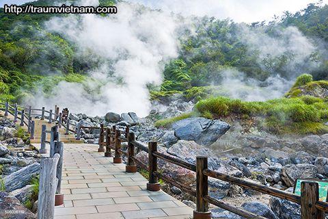 Unzen Onsen - tỉnh Nagasaki Nhật Bản