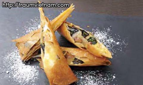 Bánh cuốn củ cải Hinona