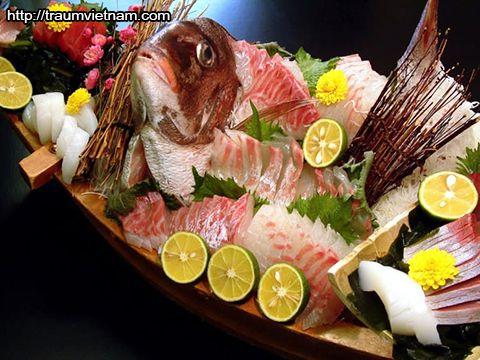 Cá hồng Narutodai - đặc sản tỉnh Tokushima Nhật Bản