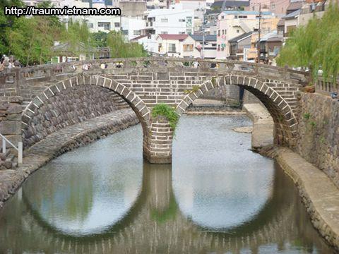 Cầu Megane - tỉnh Nagasaki Nhật Bản