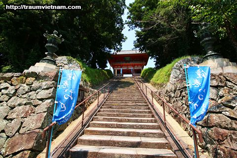 Chùa Dojo-ji - Tỉnh Wakayama Nhật Bản