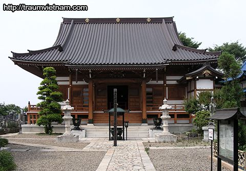 Chùa Joraku-ji - tỉnh Tokushima Nhật Bản
