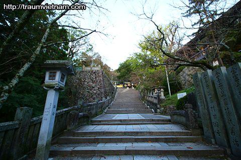 Đền Konpira-san - tỉnh Kagawa Nhật Bản