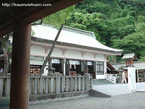 Đền Terukuni-jinja - tỉnh Kagoshima Nhật Bản