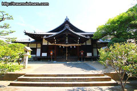 Đền Yu-jinja - Tỉnh Ehime Nhật Bản