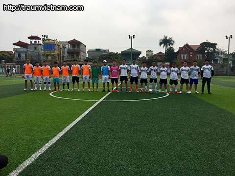 Giao lưu bóng đá Traum Việt Nam chào mừng ngày 26/03