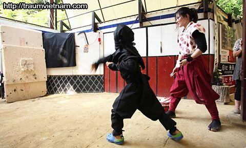Trải nghiệm Làng Sosen Ninja ở tỉnh Saga Nhật Bản