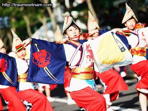 Lễ hộiAwa Odori Matsuri