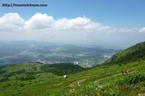 Núi Ibuki - ngọn núi cao nhất tỉnh Shiga