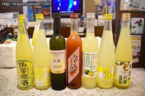 Rượu Kochi - thức uống không thể bỏ qua