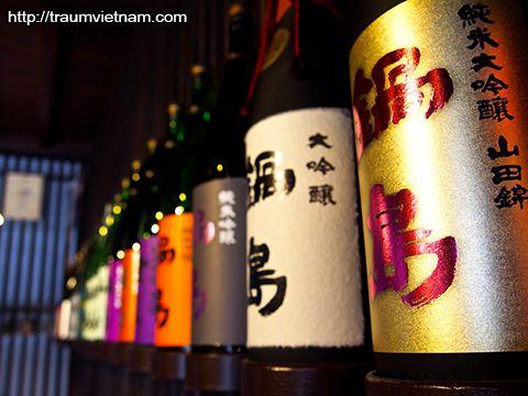 Rượu - đặc sản của tỉnh Saga Nhật Bản
