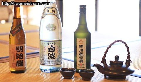 Rượu Shochu tỉnh Kagoshima Nhật Bản