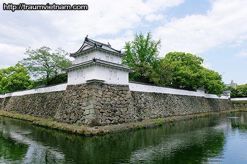 Lâu đài Funai - Tỉnh Oita Nhật Bản