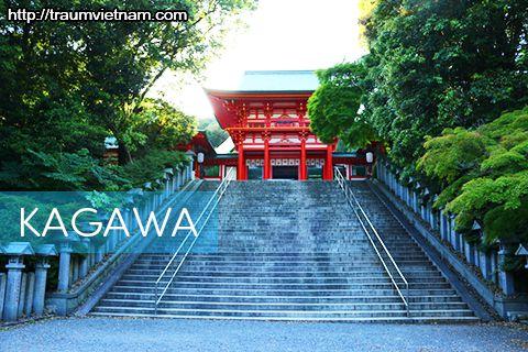 Tỉnh Kagawa Nhật Bản - vùng đất nhỏ nhất xứ phù tang