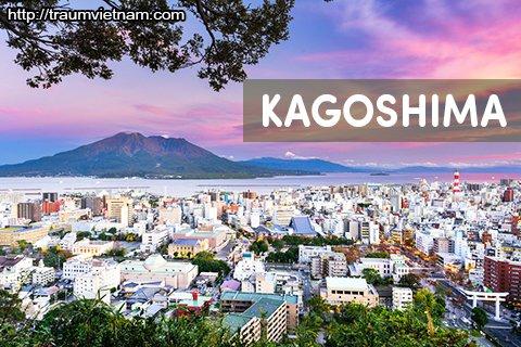 Tỉnh Kagoshima Nhật Bản - Vùng đất của những ngọn núi lửa