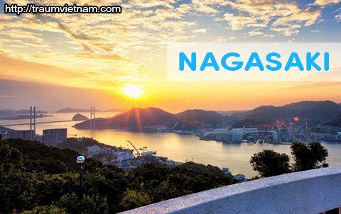 Tỉnh Nagasaki Nhật Bản - non nước hữu tình