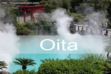 Tỉnh Oita Nhật Bản – thiên đường Onsen