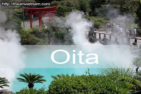 Tỉnh Oita Nhật Bản - thiên đường Onsen