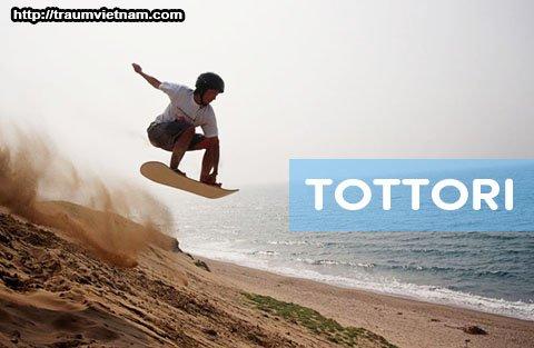 Tỉnh Tottori Nhật Bản - vùng đất của những đồi cát