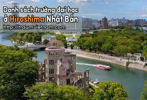 Danh sách các trường đại học ở Hiroshima Nhật Bản