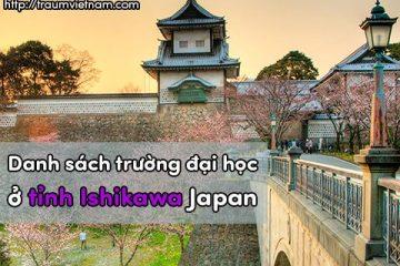 Danh sách các trường đại học ở Ishikawa Nhật Bản
